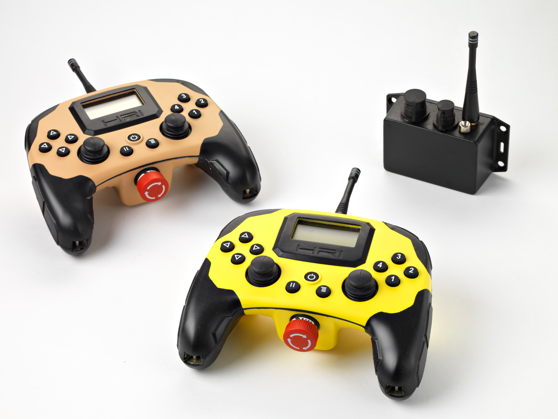 SRCS System with Tan and Yellow controller