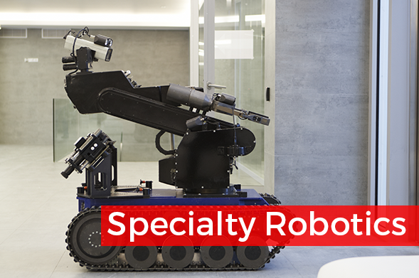 Custom Wireless Controls for Specialty Robotics